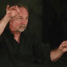 Jacques Michel, chef du choeur Tolosa