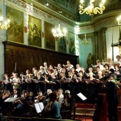 Répétition avant concert, 2014