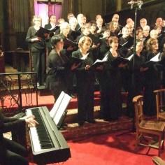 Stabat mater de Rheinberger, concert de fin d'année, décembre 2017