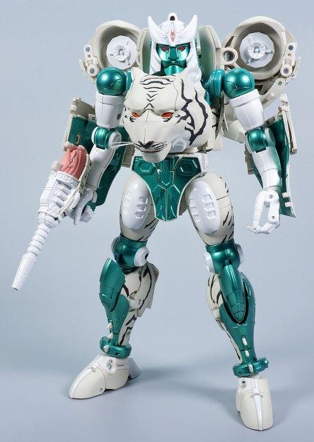 マスターピース タイガトロン ロボットモード