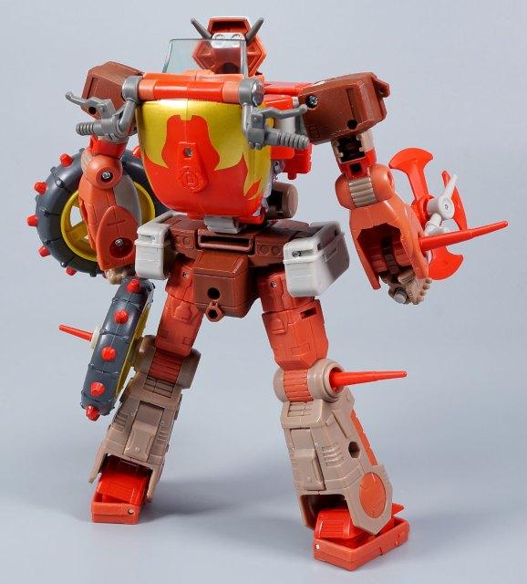 スタジオシリーズ レック・ガー ロボットモード