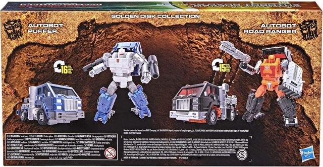 オートボットロードレンジャー&オートボットパッファー