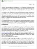 2017 Q3 CEF Investor Letter