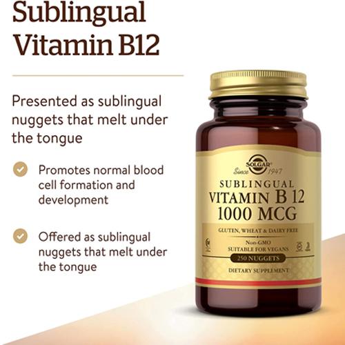 미국 직구 솔가 비타민 B12