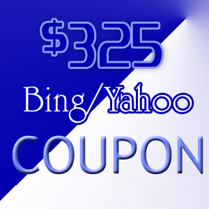 bing coupons