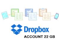dropbox account
