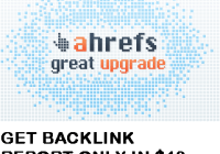Get AHREFs Full Backlink Report