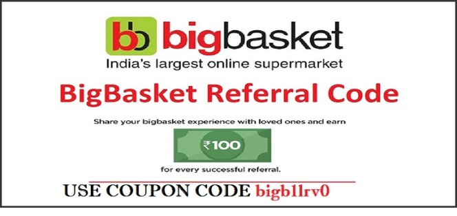 Bigbasket Coupon Code