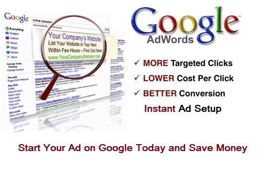 Google Adwords Ad Credit For India