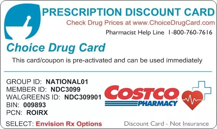 Costco Pharmacy Discount Card