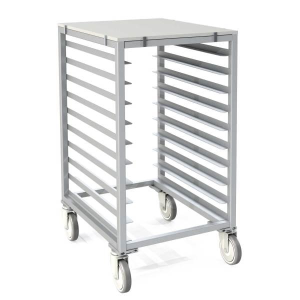 Poly-Top Half Size Pan Rack