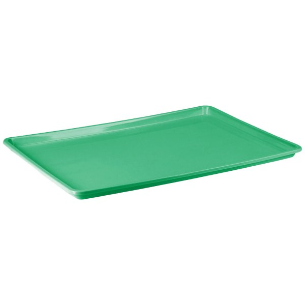 "18"" x 26"" Green Bakery Tray"