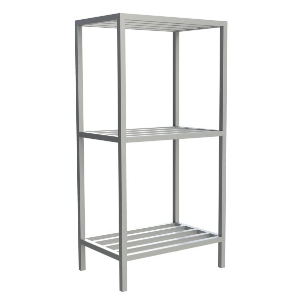 3-Shelf Tubular Fixed Shelving