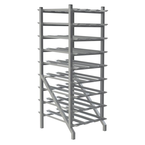 162 Can Capacity Can Rack (Stationary)