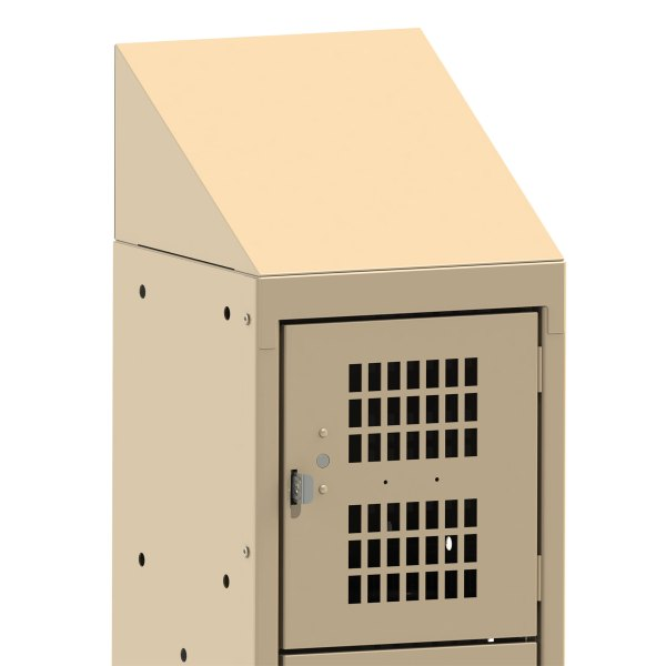Slant Top Option for Lockers
