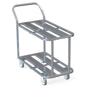 Aluminum Channel Utility Cart