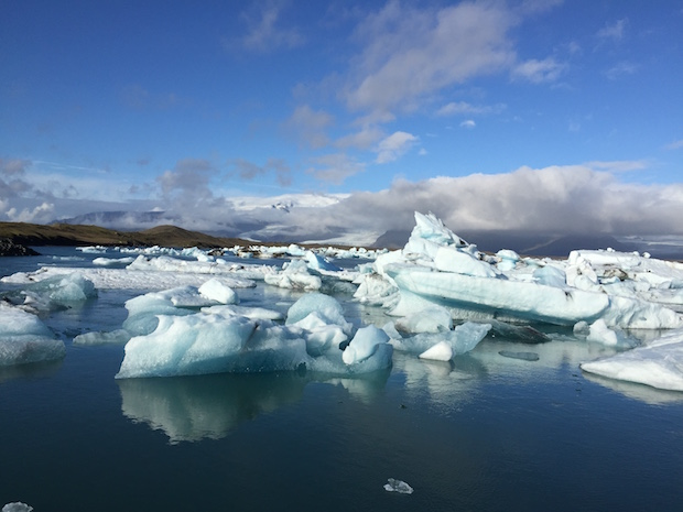 gletscher lagune island