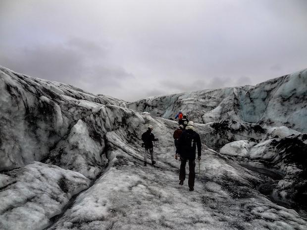 myrdalsjoekull gletscher island