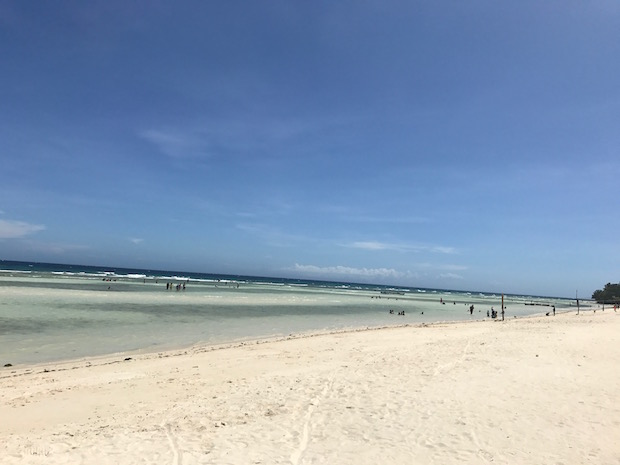 Anda White Beach Philippinen