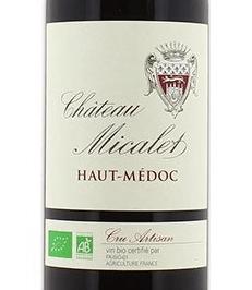 vin rouge chateau micalet haut medoc