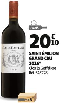 Clos La Gafellière 2016 Saint Émilion Grand Cru rouge