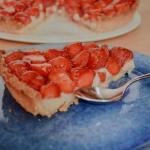 tarte aux fraise et champagne