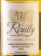 image reuilly vin beurdin
