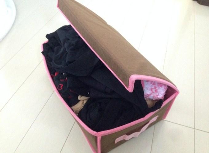 靴下の収納ケース