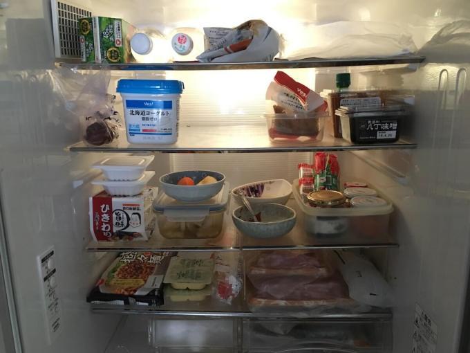 実家の冷蔵庫を綺麗に整理整頓