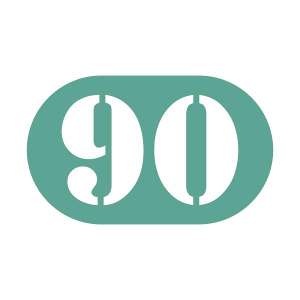 90-tal stickers
