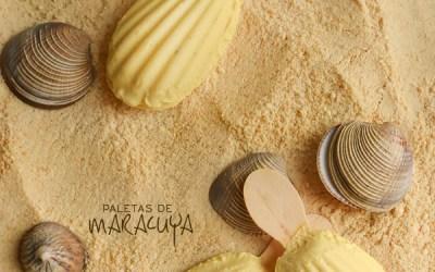 Paletas de Maracuyá