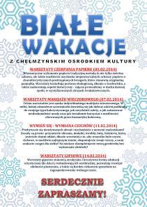 BIAŁE WAKACJE 2014 - WARSZTATY.pdf-page-001