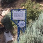 Chollar Mine Historic Marker