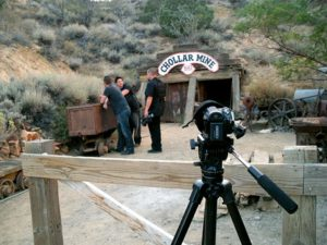 """Ghost Adventures Crew at the """"haunted"""" Chollar Mine"""