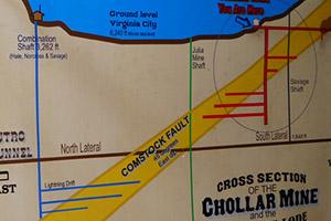 Chollar Mine Map