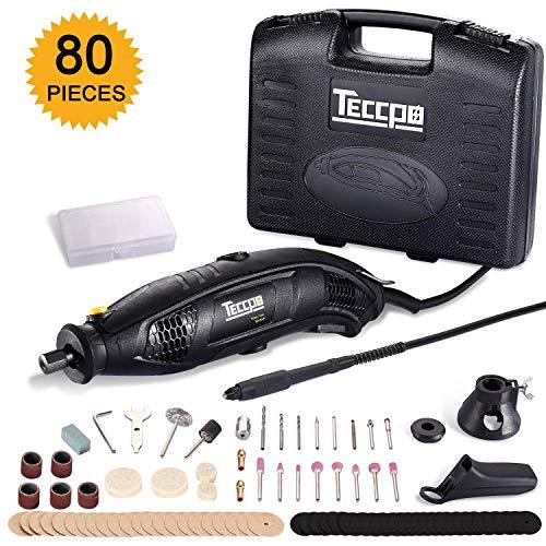 Amoladora eléctrica 170W, TECCPO Mini amoladora Avanzado Profesiona