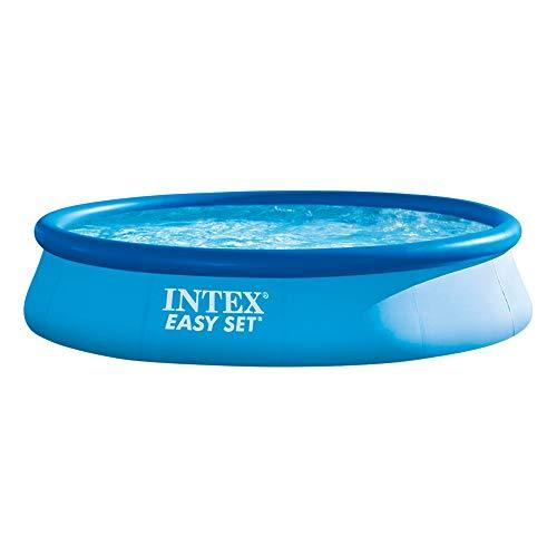 Intex 28143NP – Piscina hinchable Easy Set 396 x 84 cm, 7.290 litros    Precio: 64.9€        visita t.me/chollismo