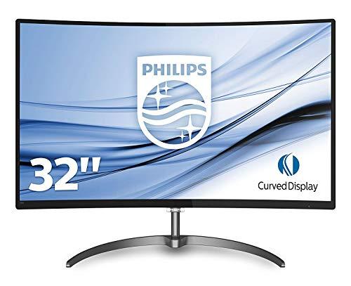 Philips Monitores 328E8QJAB5/00 – Monitor de 32″ (resolución 1920 x 1080 Pixeles, LED, 5 ms, 250 CD/m²) Color Negro y Gris    Precio: 189.99€        visita t.me/chollismo