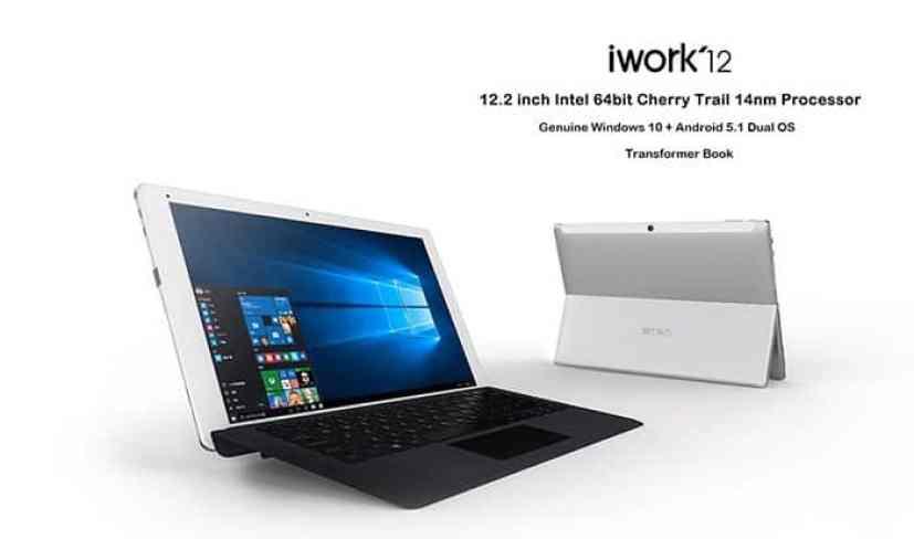 Chollo tablet Cube iWork 12 con teclado por 151 euros (Cupón Descuento)
