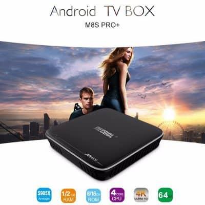Oferta Box Android TV MECOOL M8S Pro+ por 29 euros