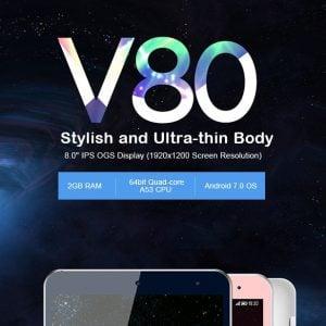 Chollo tablet Onda V80 por 64 euros (Cupón Descuento)