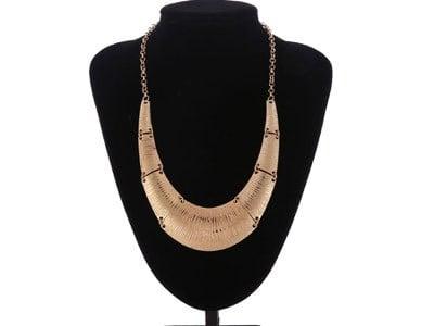 Collar de oro y plata para mujer por 1,45 euros - Increible