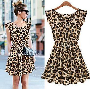 Vestido de leopardo por 5,52 euros