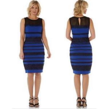 Vestido Azul Y Negro O Blanco Y Oro Por 18 Euros Las