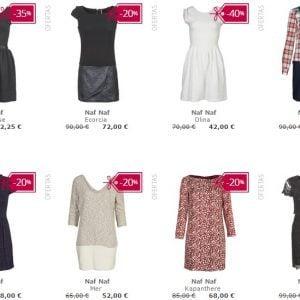 Oferta: Vestidos Naf Naf hasta 40% de descuento