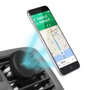Soporte magnético de móvil para coche por 12 euros (78% descuento)