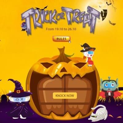Participa en el sorteo Halloween de DealeXtreme