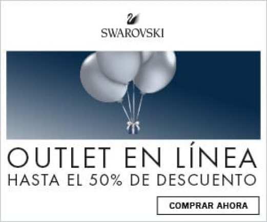 Aprovechate del outlet Swarovski