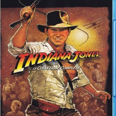 Chollo Indiana Jones Blu-Ray Colección completa por 17 euros