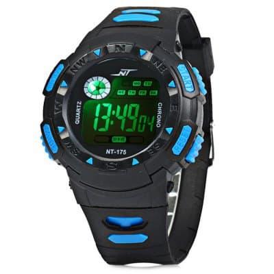 Chollo reloj LED resistente al agua por 3 euros